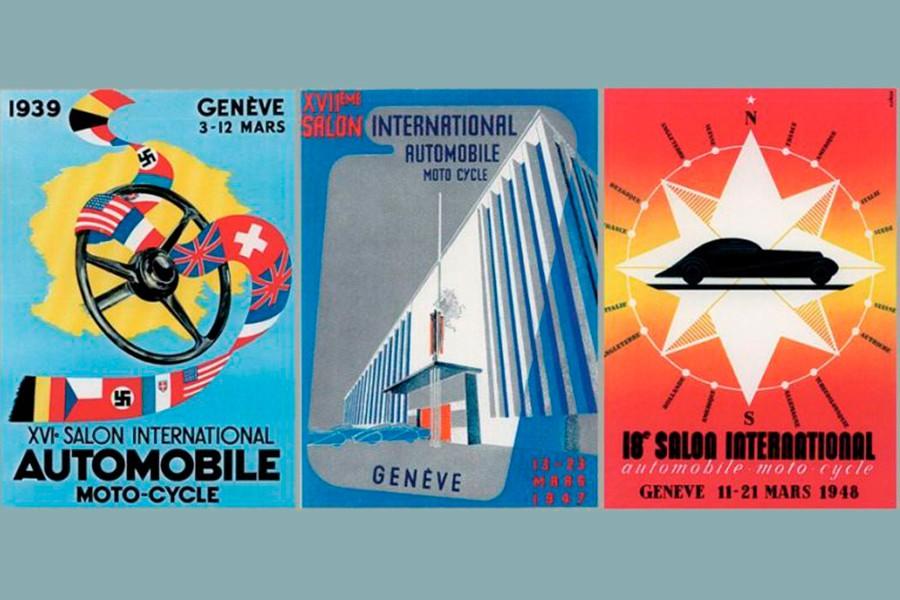 Sólo la Guerra interrumpió la celebración del Salón de Ginebra.