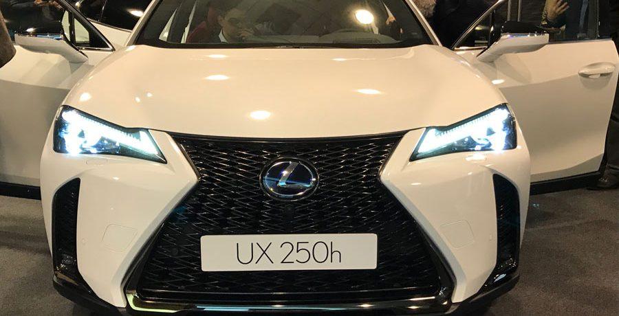 El nuevo Lexus UX llegará a los concesionarios dentro de un año