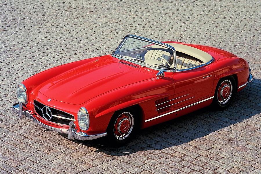 Los 5 mejores cabrios de Mercedes, según ella misma
