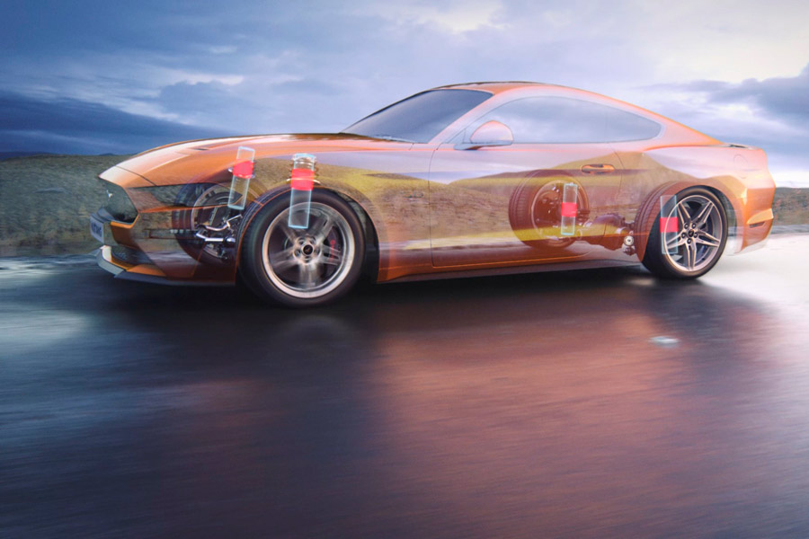 El nuevo Ford Mustang recurre a tecnologías para atletas de élite