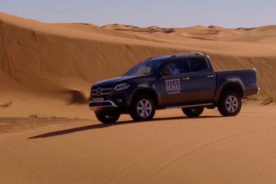Mercedes Clase X: el coche de los titanes del desierto 2018