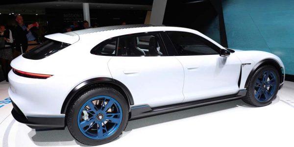 Porsche Mission E Cross Turismo: el segundo eléctrico de la marca