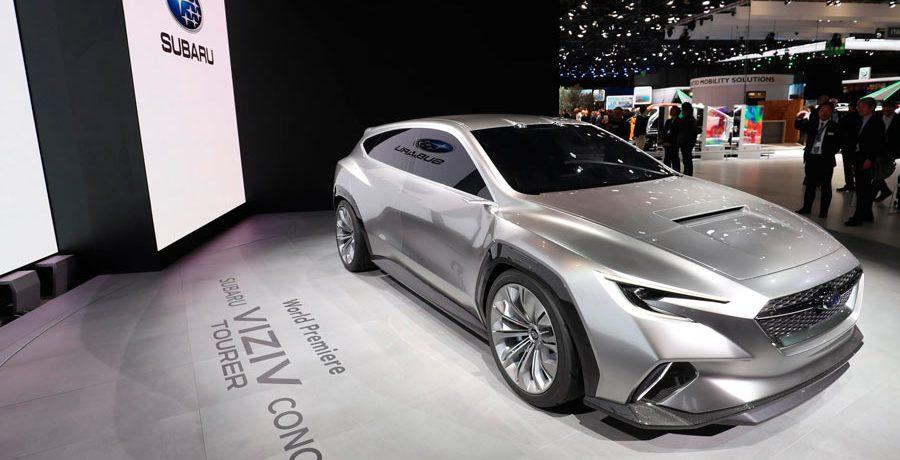 Subaru Viziv Tourer Concept, la apuesta de la marca para Ginebra