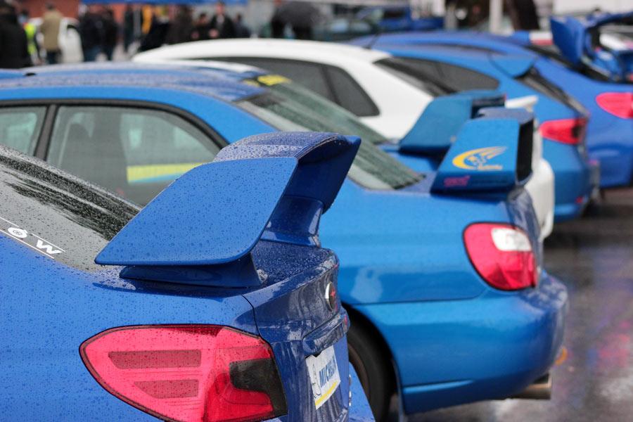 Subaru y los subaristas se dan cita en El Jarama