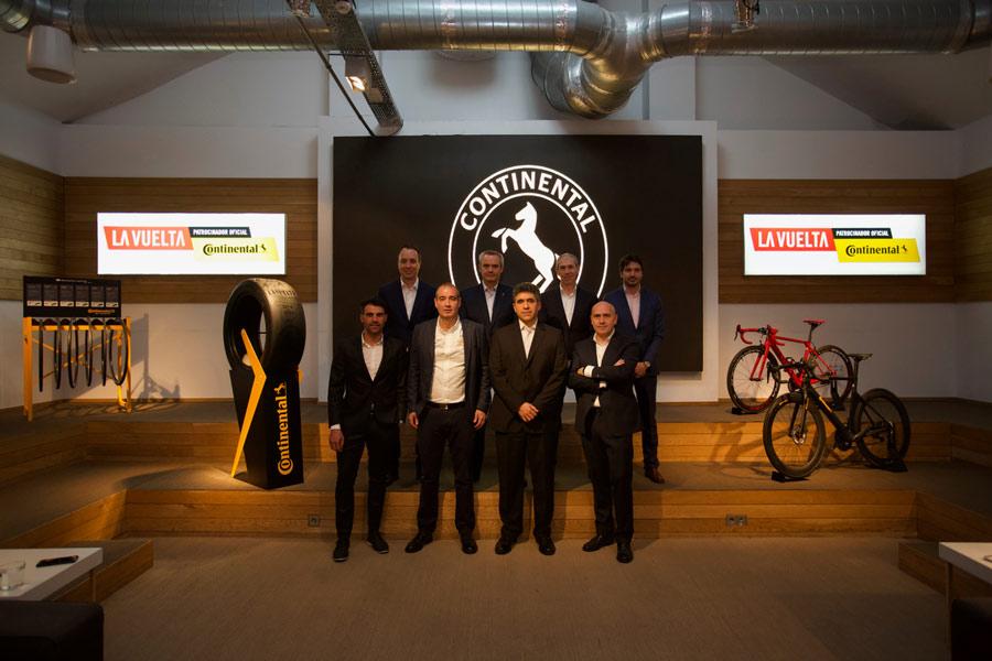 Continental será patrocinador oficial de La Vuelta hasta 2020