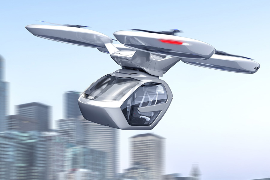 Audi Pop Up Next: el dron habitable con movilidad terrestre