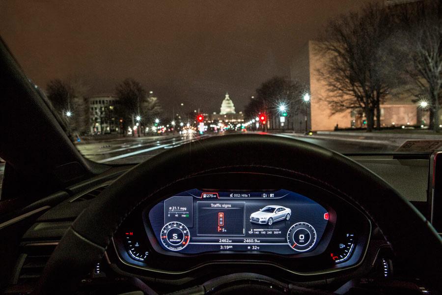 Así se comunica Audi con los semáforos