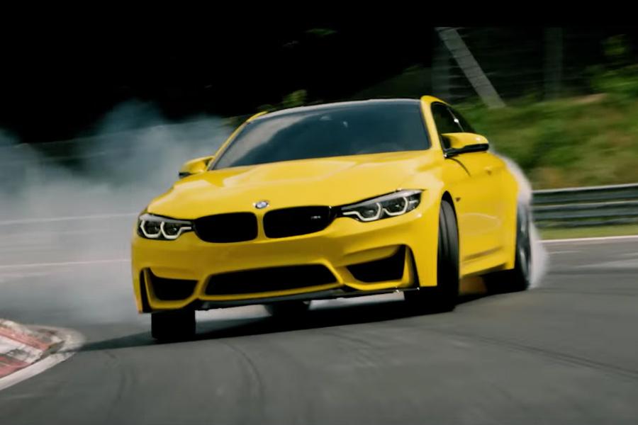 Nürburgring se cierra para las travesuras de un BMW M4 CS de Pennzoil