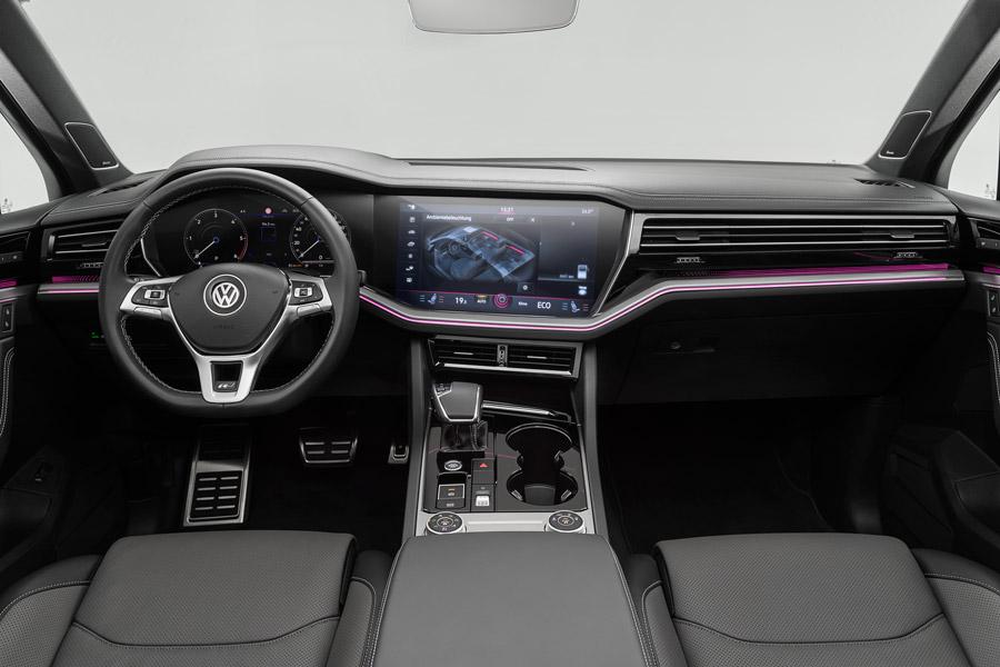 Nuevo Volkswagen Touareg interior.