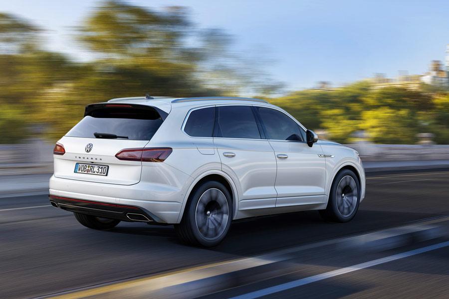 Volkswagen Touareg dinámicas.