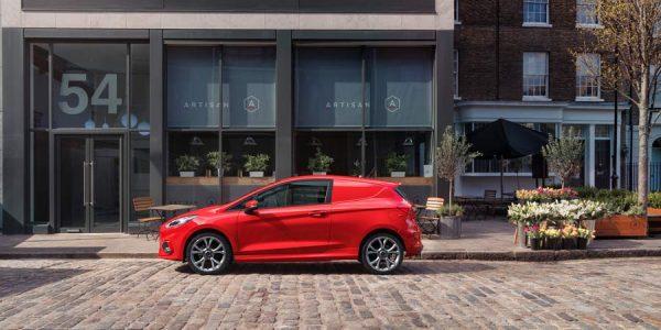 Ford Fiesta Van: para que las empresas estén a la última
