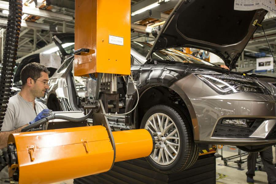 La planta de Martorell cuenta con 2.000 robots, lo que supone alrededor del 10% de los robots industriales que hay en España.