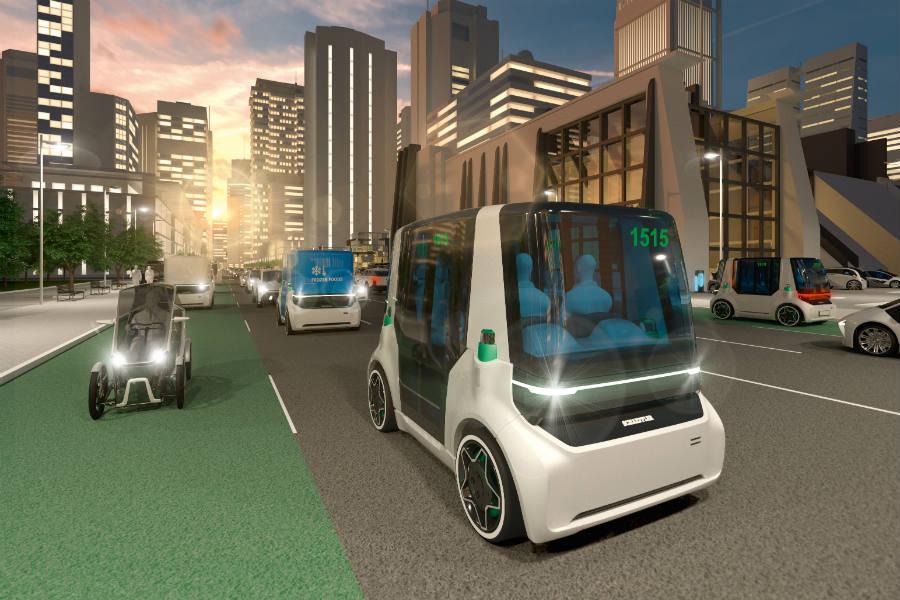 Schaeffler Mover, el nuevo concepto de movilidad urbana