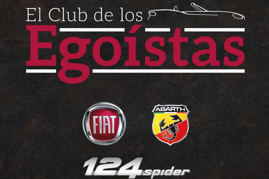 El Club de los Egoístas Fiat/Abarth 124 Spider.