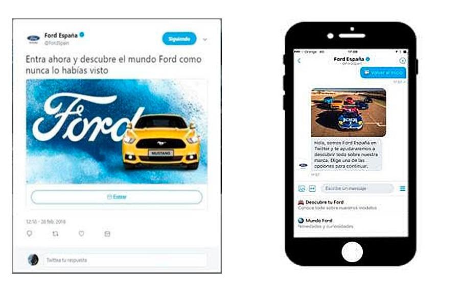 El nuevo robot de Ford está en Twitter