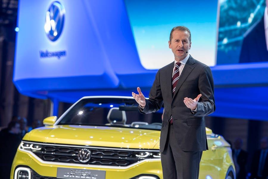 Herbert Diess, nuevo presidente del Grupo Volkswagen