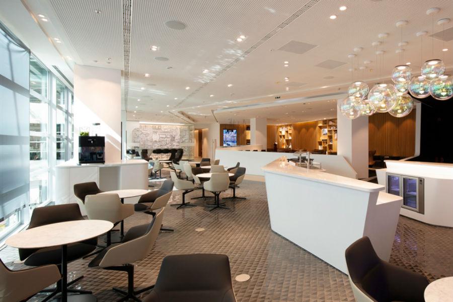 Así es la sala de espera de Lexus en el Aeropuerto de Bruselas