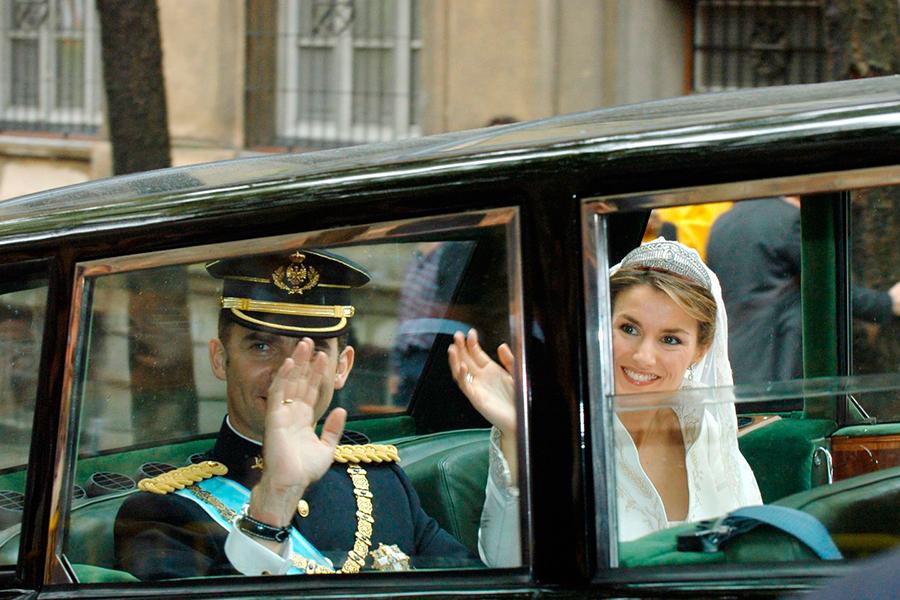 Los coches de las bodas de los famosos