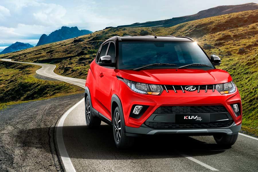 El Mahindra KUV100 llegará a España en mayo con un precio de partida de 10.450 euros.