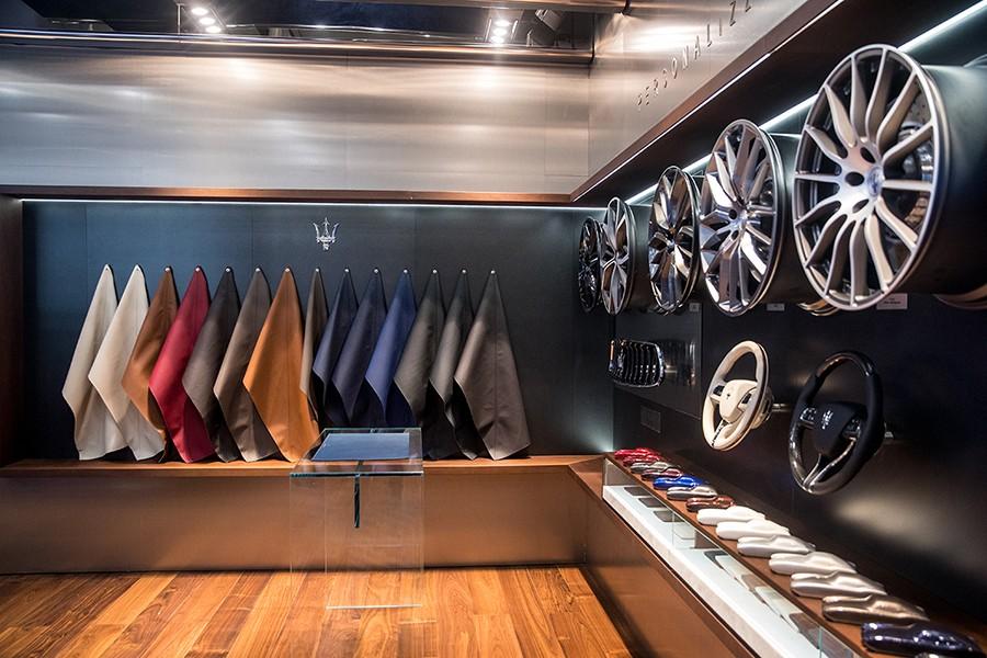 Maserati ofrece un amplísimo catálogo de personalización para sus clientes.