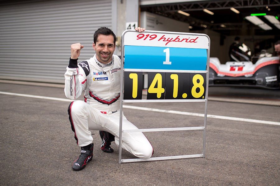 El LMP1 de Porshe ha sido más de un segundo más rápido que el Fórmula 1 de Hamilton.