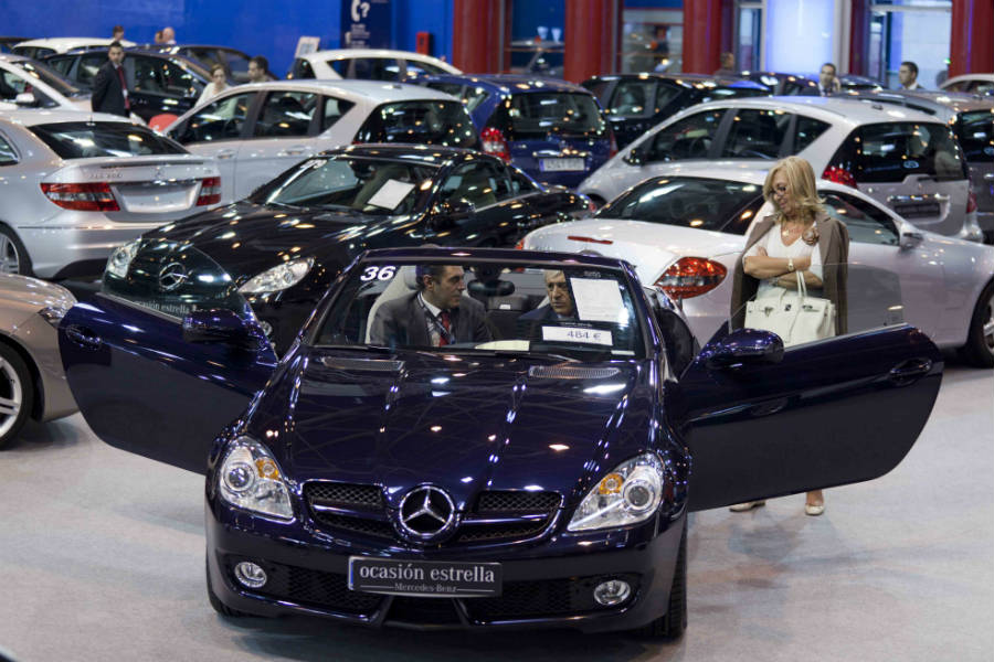 La venta de vehículos de ocasión aumenta un 17,8%
