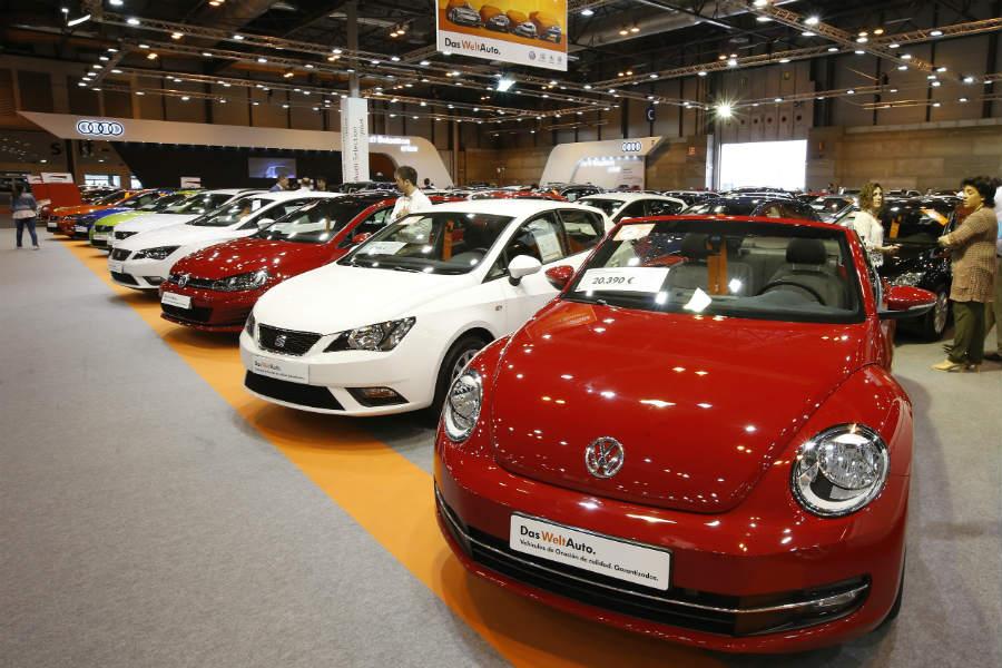 La venta de coches usados crece un 2,5%  en el primer trimestre del año