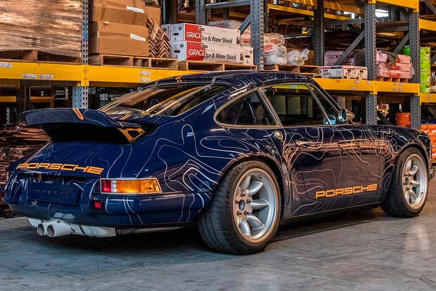 Porsche 911 Singer Mulholland.