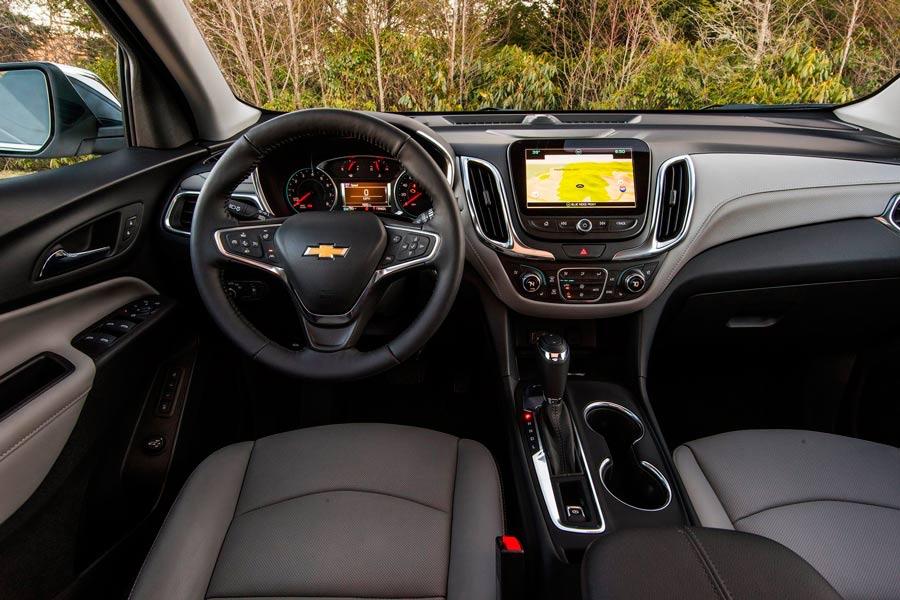 Interior Chevrolet Equinox.