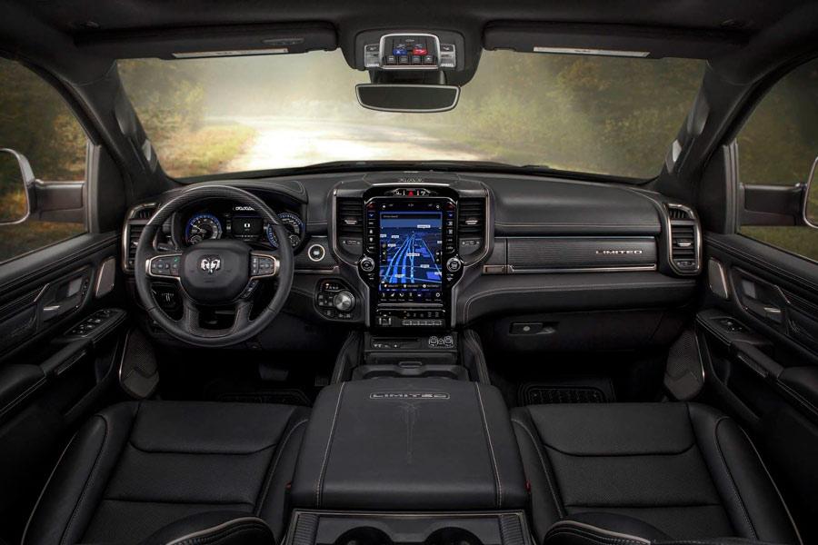 Interior del RAM 1500.