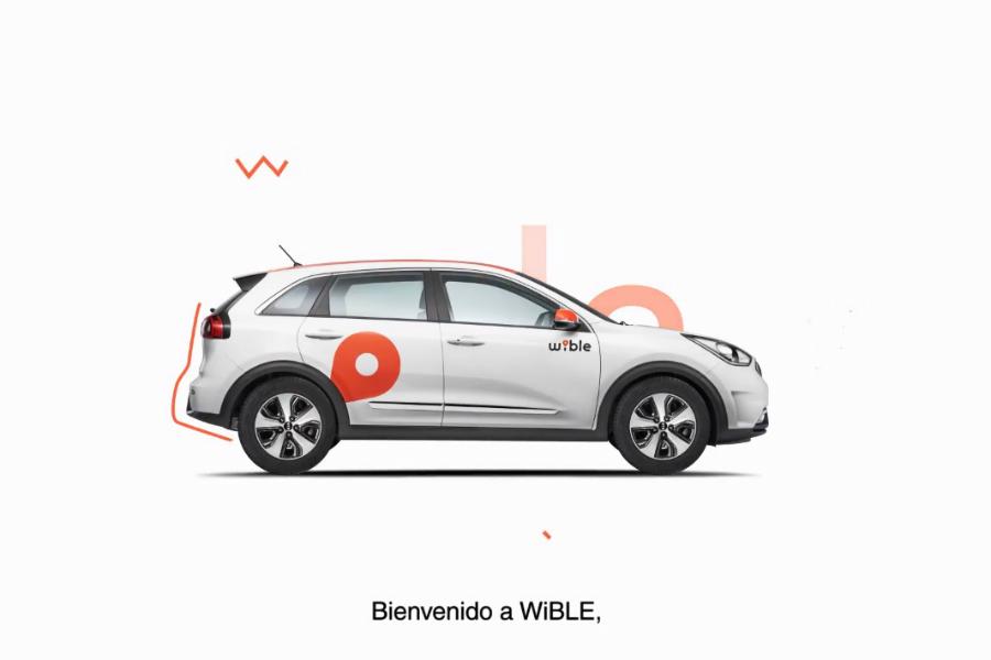 El Kia Niro Híbrido Enchufable es el elegido por Wible para dar servicio a los madrileños