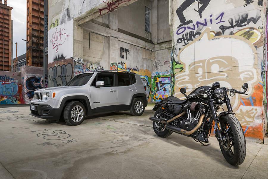 Jeep y Harley Davidson renuevan su contrato de colaboración