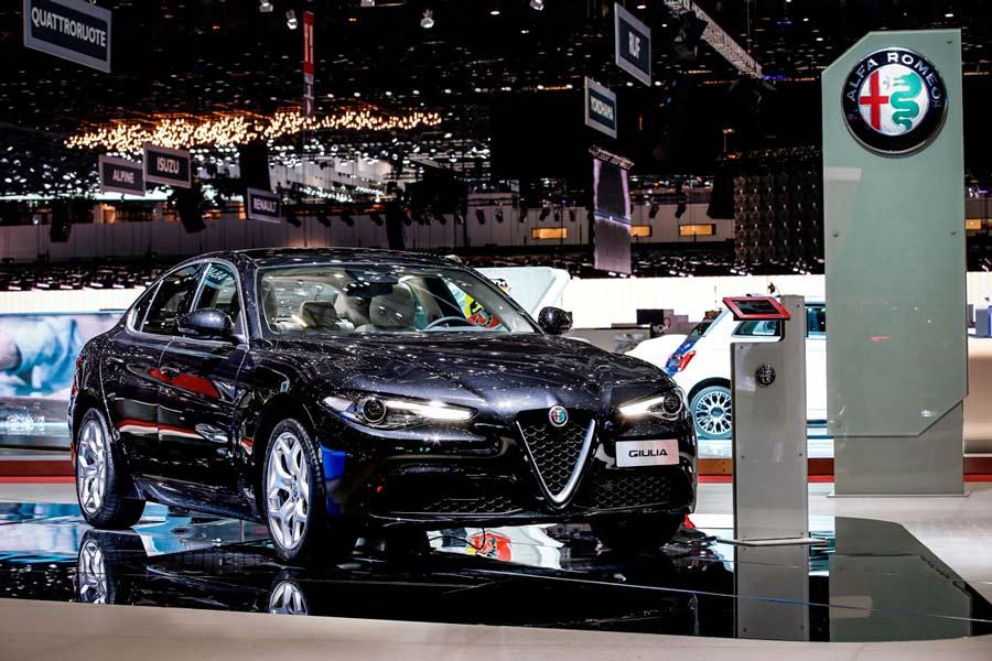 Stelvio Quadrifoglio, la estrella de Alfa Romeo en Madrid Auto 2018