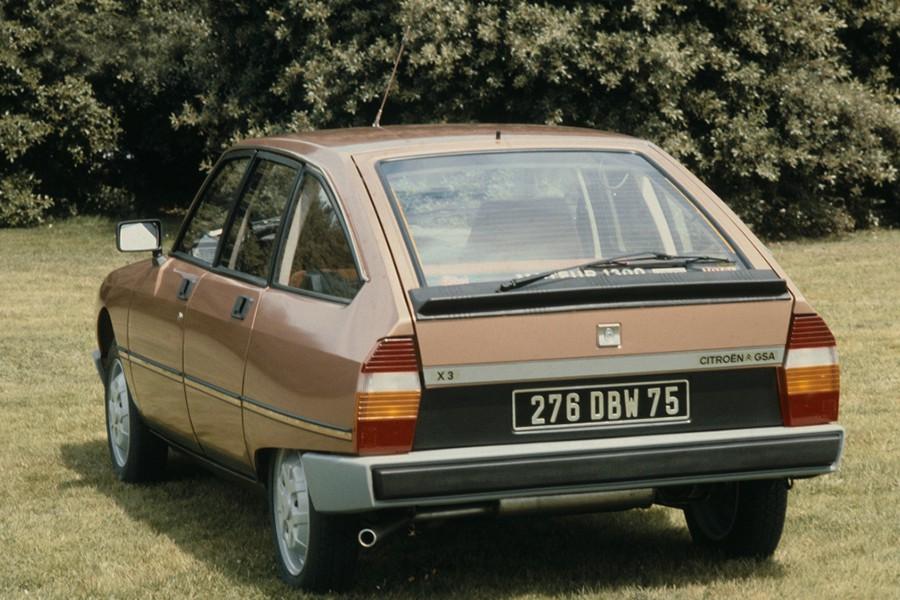 El Citroën GSA se presentó con un cuadro de instrumentos que parecía salido de una película de Star Wars.