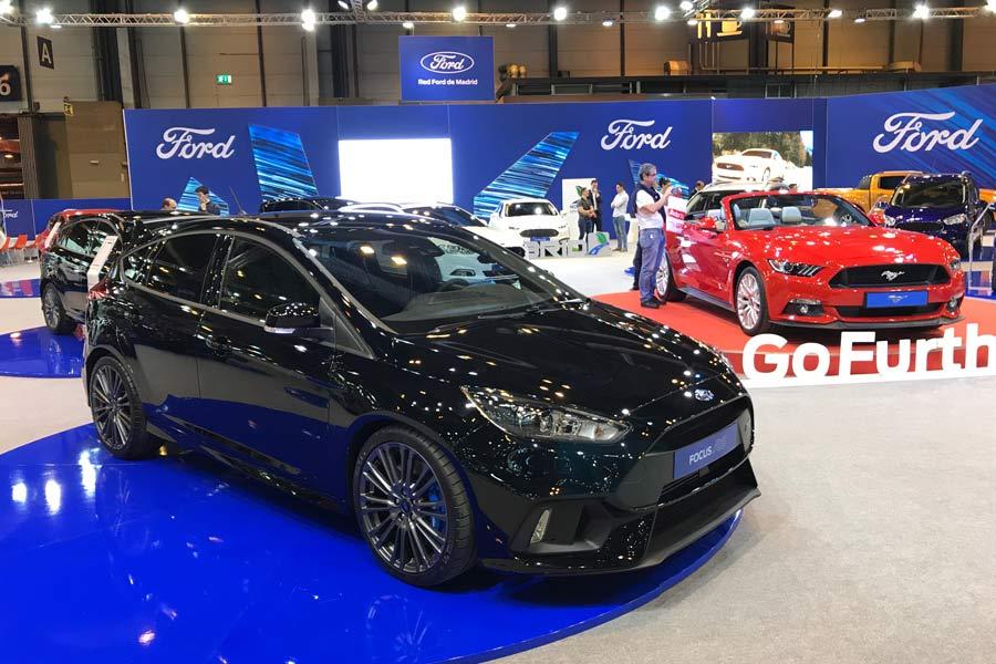El Focus RS en color negro impone todavía más.