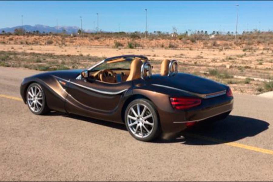 El coche eléctrico hecho por un profesor español