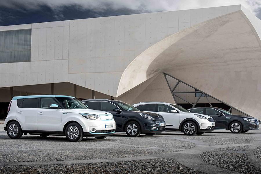 La gama de modelos ecológicos de Kia es muy completa.