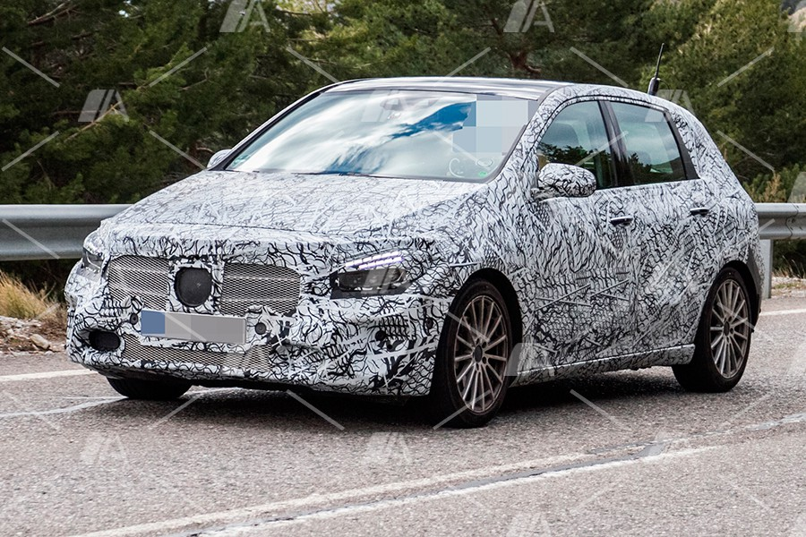 Fotos espía del nuevo Mercedes Clase B 2019