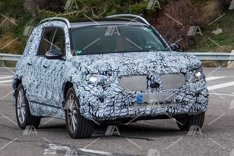 Así será el futuro Mercedes GLB