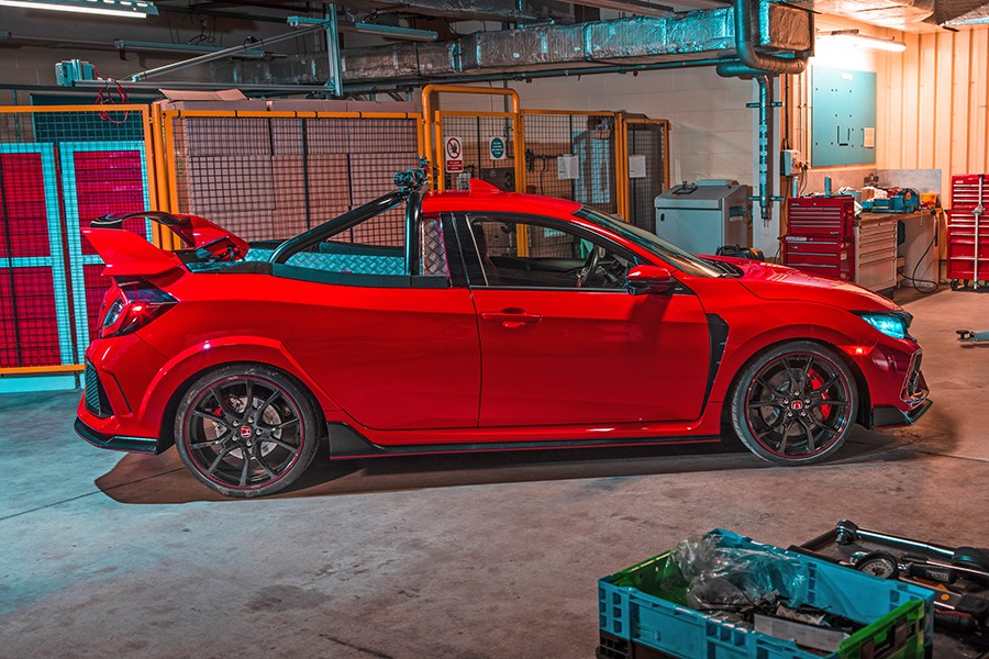 Honda Civic Type R Pick Up: ¿práctico o radical?