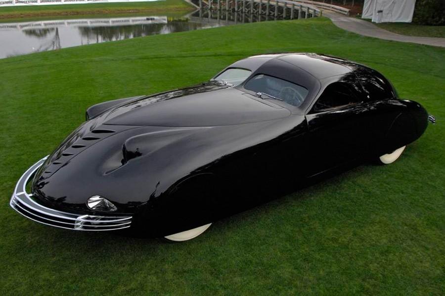 El Phantom Corsair parecía el coche del futuro hace casi 100 años y todavía hoy es sorprendente.