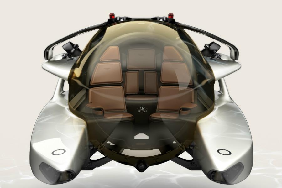 Así es el submarino de Aston Martin