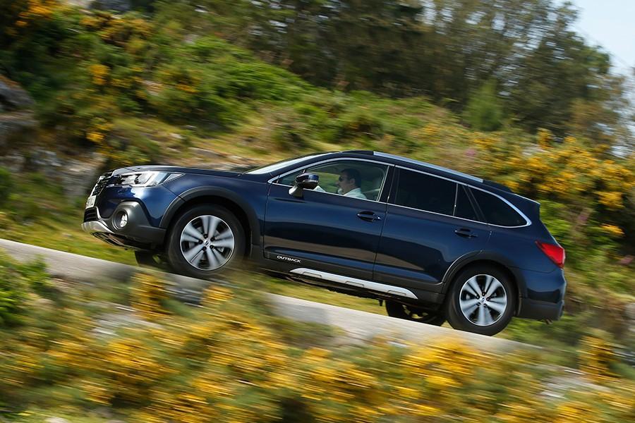 Prueba del Subaru Outback Executive Plus S 2018
