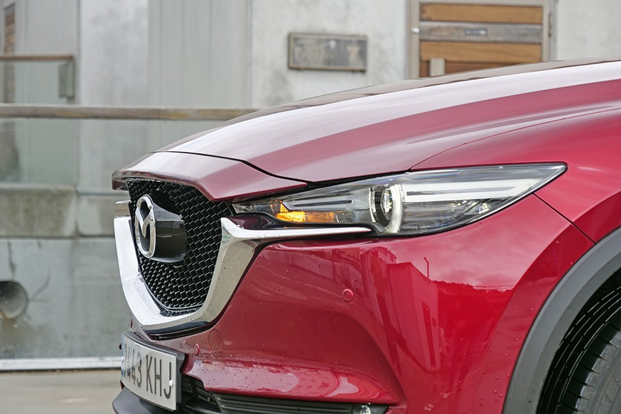 El Mazda CX-5 está repleto de detalles de diseño muy elaborados.