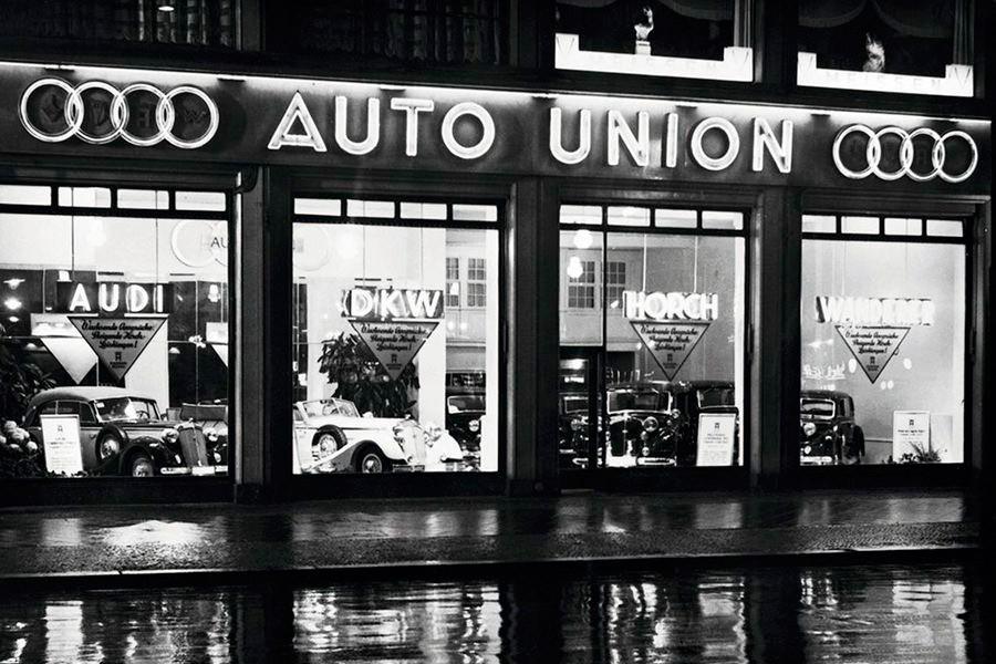 Qué significa el logo de Audi