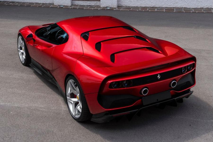 Ferrari SP38: el último 'one-off' de la marca del cavallino
