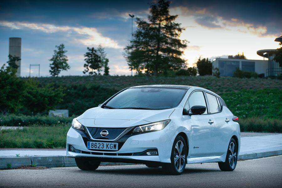 Imágenes dinámicas con el Nissan Leaf 40 kWh.