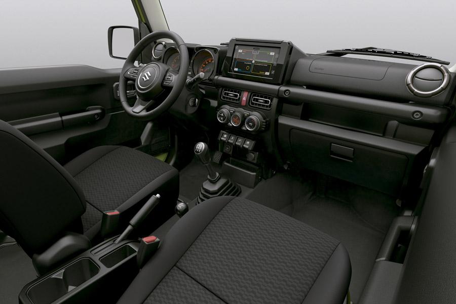 Interior del Suzuki Jimny 2019