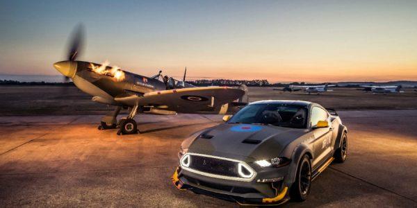 Eagle Squadron Mustang GT: el muscle car más patriota