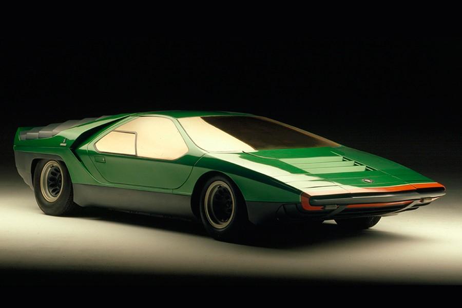 El Alfa Romeo Carabo tenía un diseño que marcó una época.